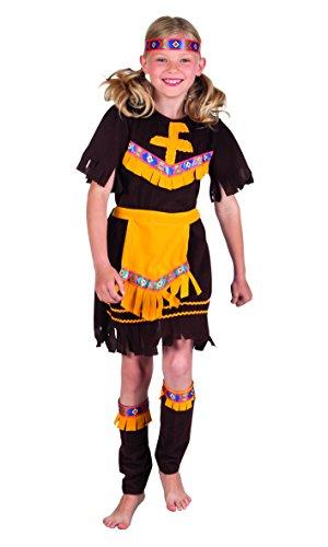Boland 82173 – Enfants Costume Indienne Little Barefoot Marron