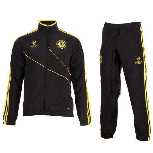 Tuta Riscaldamento Adidas F.C. Chelsea 2012/13 Microfibra Prodotto Ufficiale UEFA Champions League