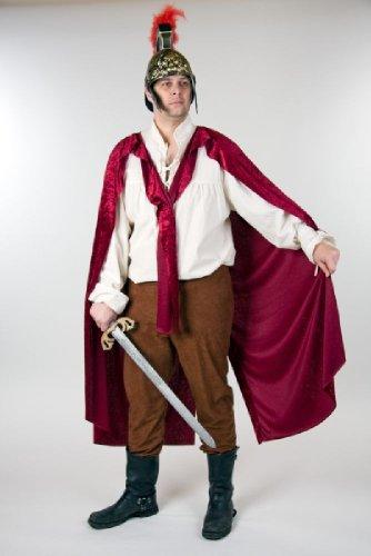 Herren Kostüm St. Martin teilbarer Umhang aus Pannesamt