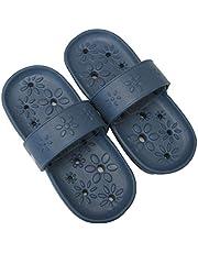 ミツギロン 両履きサンダル フルール フリーサイズ(~25cm推奨) フルール インディゴブルー