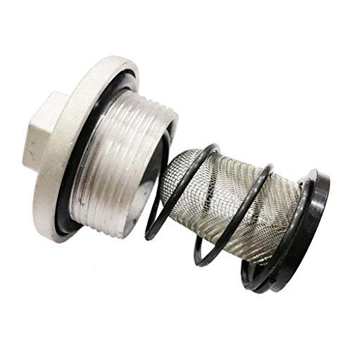 IPOTCH 2 X Ölfilter Ablassschraube Ablassstopfen (mit O-Ring) Für Gy6 50 125 150cc Moped Roller
