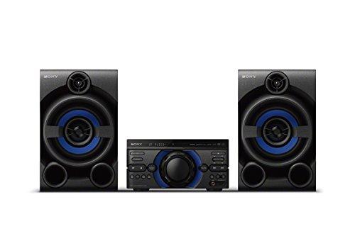 Sony MHC-M20D Bluetooth Party Lautsprecher (USB, CD/DVD, HDMI, Lautsprecherbeleuchtung, kompatibel mit Party Chain) schwarz