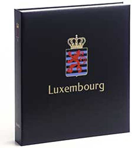 DAVO 6532 Luxus Briefmarken-Album Luxemburg II 1960-1995
