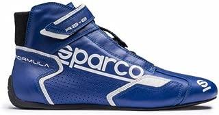 Sparco Slalom US Racing Shoes 001266 Size: 42, Blue//Black