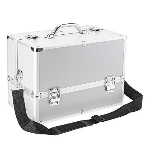 AMASAVA Beauty Case da Viaggio,Cofanetto Trucco, valigia Trucco, Caso Cosmetici, 36.5 x 22 x 27 cm,...