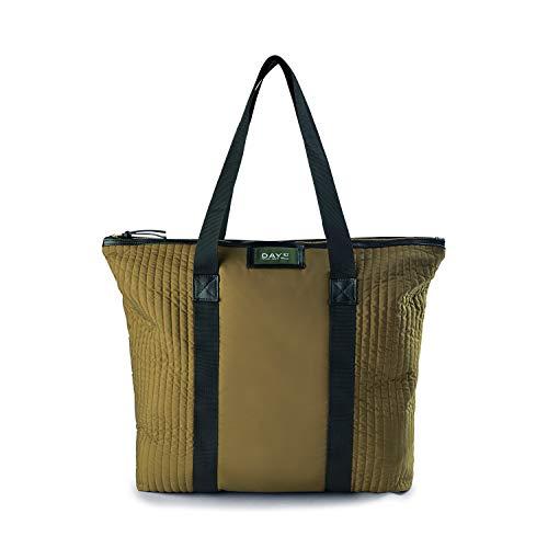 DAY ET | Gweneth RE-Q Partial Bag | Schultertasche | Militär Oliv | Dänisches Design | 100% Recycled Polyester