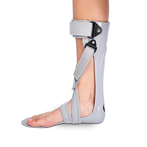 GHzzY Férula de Soporte para pie caído - Soporte para ortesis de pie y Tobillo - Soporte AFO para caída de pie, Fascitis Plantar y tendinitis de Aquiles,Right,M