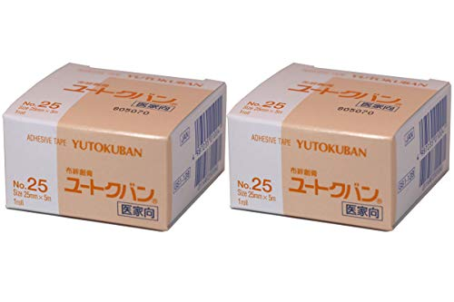 YUTOKU 2Packs Adhesive Tape YUTOKUBAN Ear Tape for Dogs & Cotton Swabs Set by Gift Japan