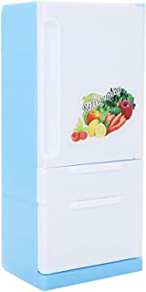 Non-Toxic Plastic Smooth Surfaces Doll Fridge Toy, Doll Refrigerator, for Kids Baby Dolls Children