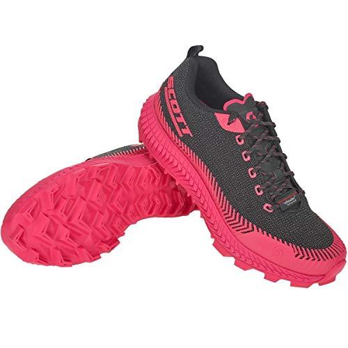 Scott W Supertrac Ultra RC Shoe Pink-Schwarz, Damen Laufschuh, Größe EU 42 - Farbe Black - Pink