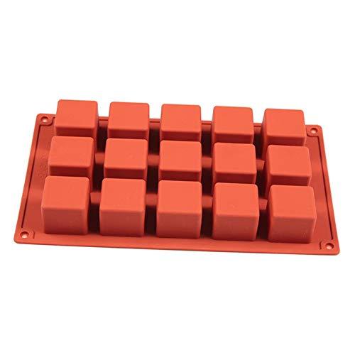 Non-brand Molde para Hornear Pasteles 15 Rejillas Molde para Chocolate Bandeja para Hielo