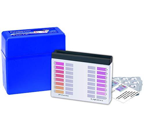 YMBERSA Estuche Analizador Pooltester O2 (oxígeno Activo) y pH