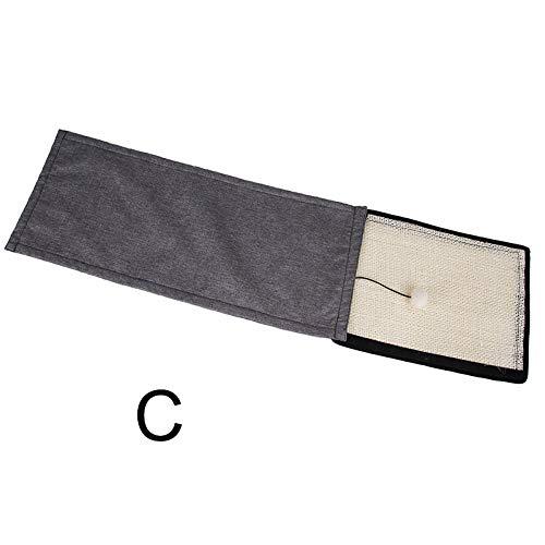 Lanceasy krasmat voor krasmeubels krassen Guards bankbeschermer wasbaar sisal-vezel-bankbord