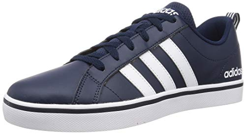 adidas Vs Pace, Baskets Homme, Collegiate Navy/Footwear White/Blue, 43 1/3 EU