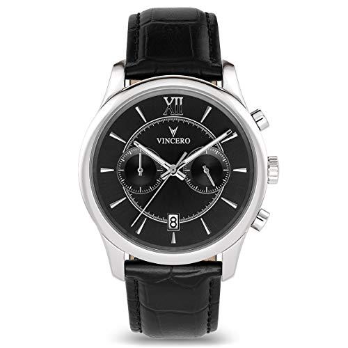 Vincero Luxury Orologio da uomo da polso di tendenza - Orologio cronografo...