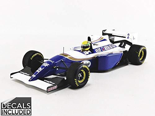 Minichamps 540941822 - Williams Renault Fw16 Ayrton Senna Pacific GP 1994 - maßstab 1/18 - Modell Auto