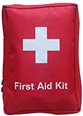 COMPLETE EMERGENCY FIRST AID BAG - in a WATER RESISTANT LINED canvas bag. This emergency kit is an effective addition to a home first aid box for when you need a car travel kit or when on holiday. RESPONSE PACK IDEAL AS CARAVAN AND CAMPING EQUIPMENT–...