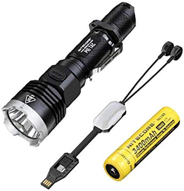 Nitecore P16 Tac 1000 Lumen Taschenlampe (CREE (CREE (CREE XM-L2 U3 w NL189 3400 mAh Akku  Eco-Sensa multifunktionales USB-Ladegerät B07HGJXNZC  Günstige Bestellung 0053f2