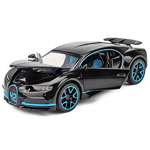 1:32 Model Car/Compatible with Bugatti/Sports Car Alloy Car Model Children