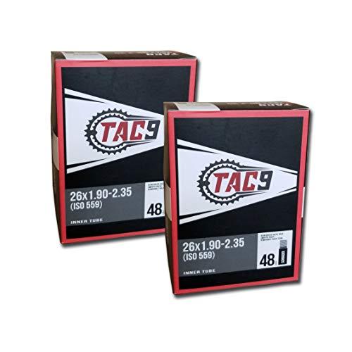 "TAC 9 2 Pack Tube, 26"" x 1.00-1.25"" Regular Schrader Valve, 32mm (ISO 559)"