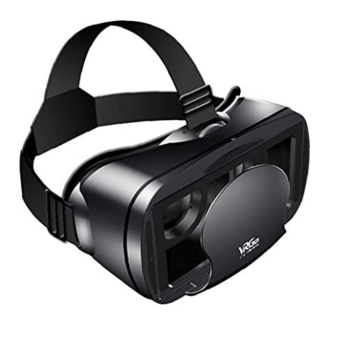 NiceJoy VR Auricular Gafas 3D Pantalla Completa Realidad Virtual visión Gran Angular de VRG Pro es Adecuado para Juegos de la película teléfono Inteligente 5-7 Pulgadas