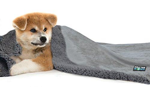 KritterWorld Pet Dog Cat Puppy Kitten Microplush Sherpa Snuggle...