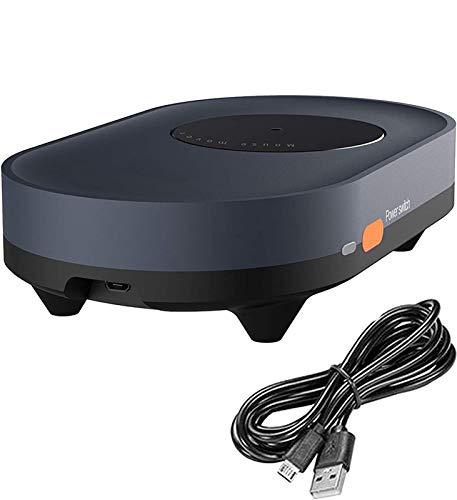 YYHSND Mouse Jiggler Mover Non Rilevabile - Rapporto di Simulazione Jiggler per Computer - Nessun Software Necessario - Clic del Mouse Automaticamente - Mantiene Attivo Il PC - Plug & Play