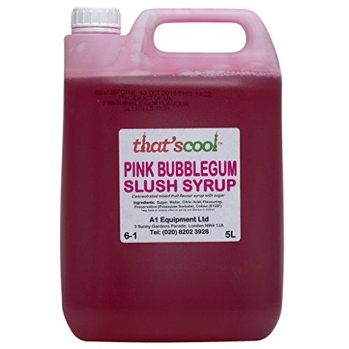 5 L Pink Bubblegum Slush Sirup 6-1 Verhältnis