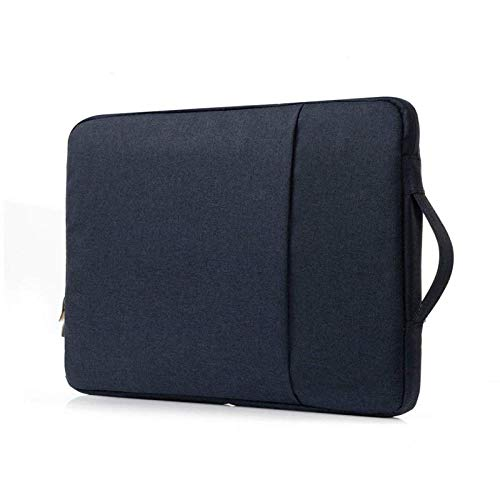 Caja de Bolsos para Samsung Galaxy Tab S2 9.7 Pulgadas Tablet Bolsa Funda Manga M-T810 SM-T813 SM-T815 Cremallera a Prueba de Golpes Pounch Bag Funda-Azul Oscuro