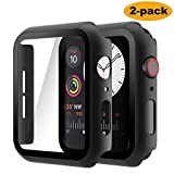 Hianjoo (2 Pack) Case Compatible with Apple Watch SE Series 6 Series 5