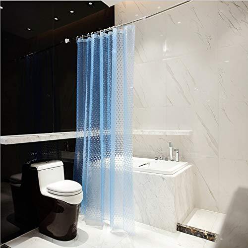 NOBRAND douchegordijn Milieubescherming gepreegd transparant vergrootglas waterdicht 180 * 180cm