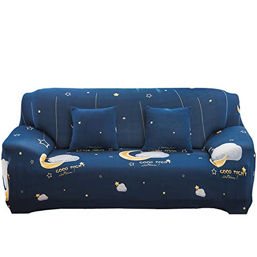 NAttnJf - Funda elástica para sofá, diseño de flamencos y Hojas de Cactus, poliéster, 5#, Einzelsitz