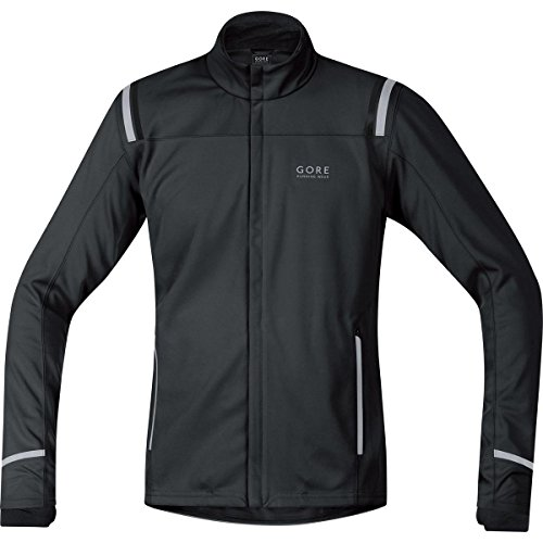 GORE WEAR Herren Jacke Mythos 2.0 Windstopper Soft Shell, Schwarz, S