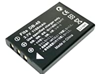 【JC】RICOC/リコー DB-40 互換バッテリー Caplio RR10 対応
