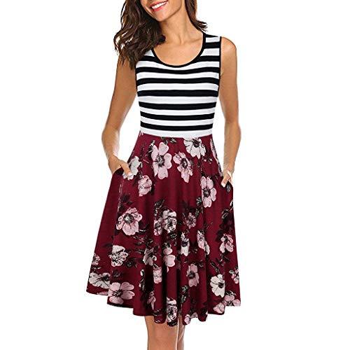 ITISME Damen Kleider V Ausschnitt Punkte Sommerkleid Rüschen Kurzarm Minikleid Strandkleid mit Gürtel Sommerkleid Damen Weiß