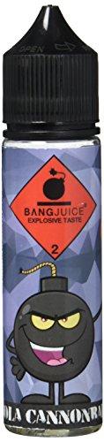 Bang Juice Aromakonzentrat Kola Cannonball, Shake-and-Vape zum Mischen mit Basisliquid für e-Liquid, 0.0 mg Nikotin, 15 ml
