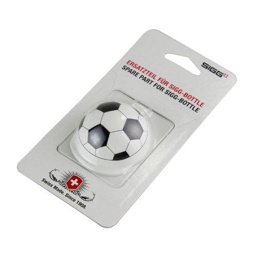 Sigg Verschluss KBT Dust Cap Football, Weiß/Schwarz, 8142.5