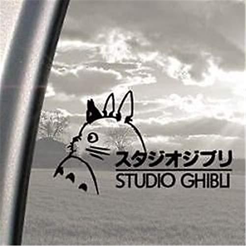 wandaufkleber 3d Wandtattoo Wohnzimmer Auto Aufkleber Auto Aufkleber Studio Ghibli Decal Sticker 20cm schwarz x1