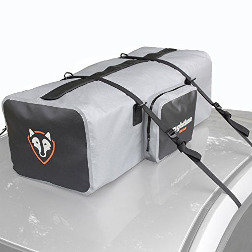 Rightline Gear 100D90 Car Top Duffle Bag, Gray, 100% Waterproof, Transport Cargo On or In Your Vehicle