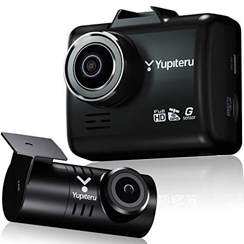 ユピテル 前後2カメラ ドライブレコーダー Y-200R 前後200万画素 Full HD ノイズ対策済 夜間画像補正 SONY製CMOSセンサー STARVIS ™搭載 LED信号対応 専用microSD(16GB)付 3年保証 GPS Gセンサー 駐車監視機能 Yupiteru