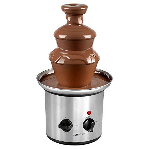 Clatronic SKB 3248 Fontaine à Chocolat 170 W Acier Inox