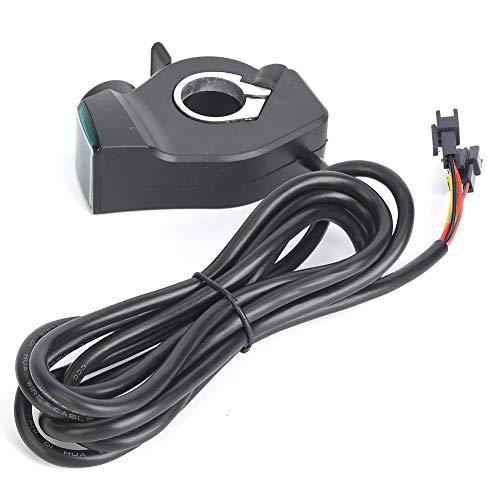 E-Bike Thumb Throttle Bicicletta Elettrica Display LCD Interruttore di Alimentazione Tensione Batteria Digitale per Veicolo Elettrico