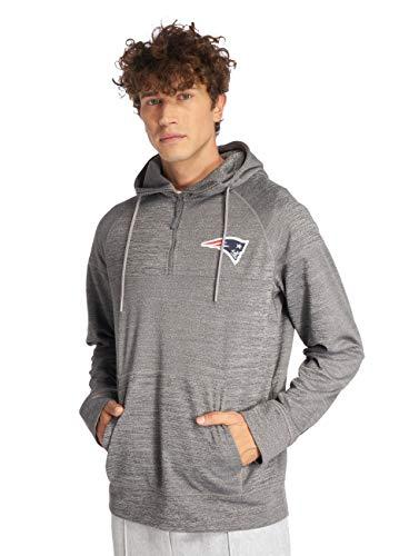 New Era NFL Jersey HZ Herren Sweater New England Patriots Grau, Größe:XL