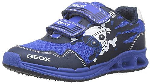 Geox Jungen J Dakin Boy B Sneaker, Blau (Royal/Navy C4227), 29 EU
