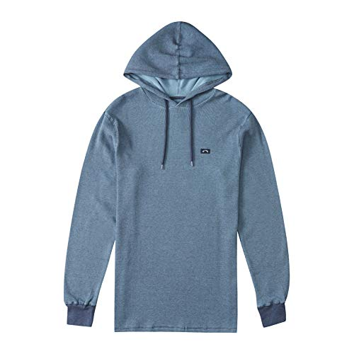 Billabong Herren Keystone Thermal Pullover Hoody Hemd, Nebel, XX-Large