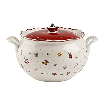 Villeroy & Boch Toy's Delight Soup Tureen, White/Colourful