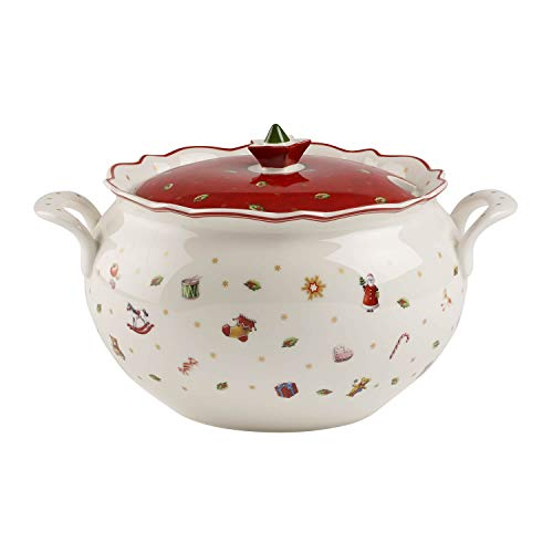Villeroy & Boch Toy's Delight Zuppiera, Porcellana, Bianco/Multicolore
