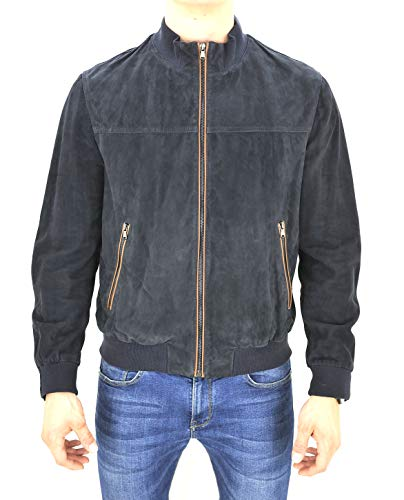 PAUL & SHARK Casual, Leather, Outerwear, X-Large.