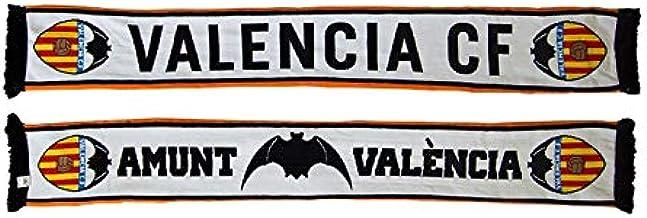 FUTBOL Bufanda Valencia CF Doble Blanca Amunt: Amazon.es: Deportes y aire libre