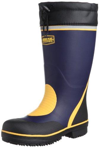 [ミドリ安全] 安全長靴 先芯入り 防寒 777 メンズ ネイビー 24.5